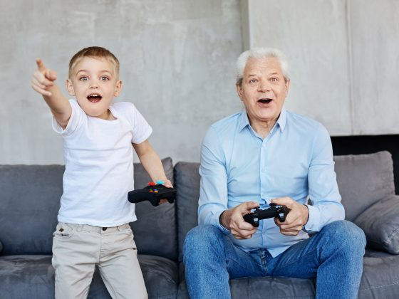 aging and gaming
