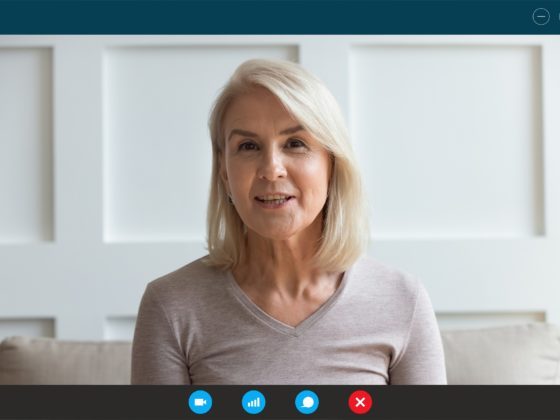 Online therapy for seniors